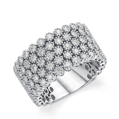טבעת יהלומים דגם Rebecca