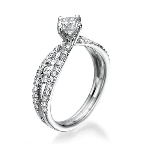 טבעת אירוסין דגם Koya