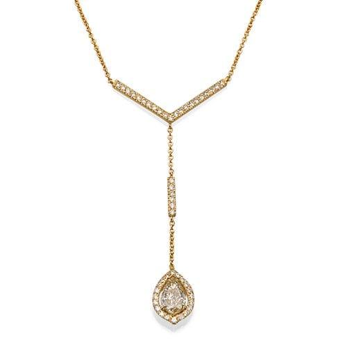 שרשרת יהלומים דגם Malka