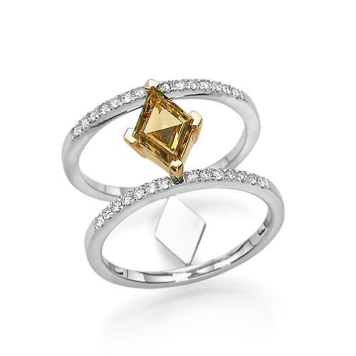 טבעת יהלומים דגם Lea