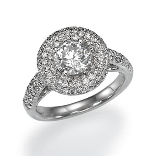 טבעת יהלומים דגם Aya ב-45% הנחה!!!