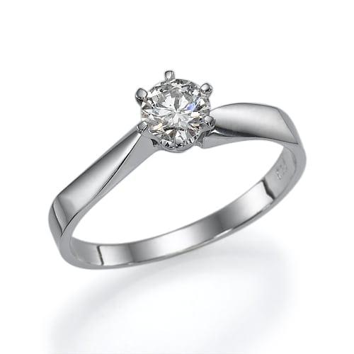 טבעת אירוסין  דגם Mary