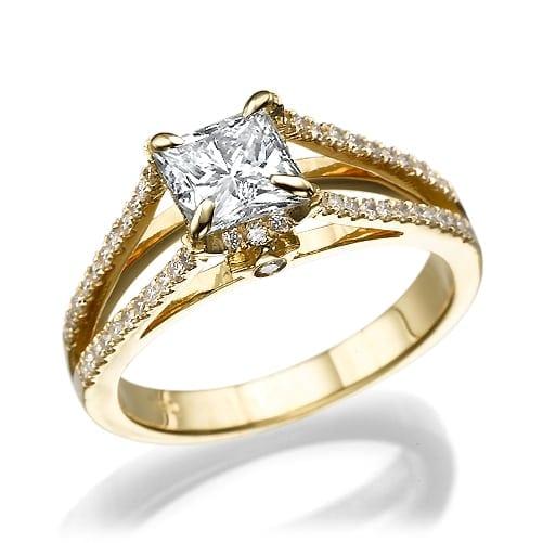 טבעת יהלומים דגם Manuela