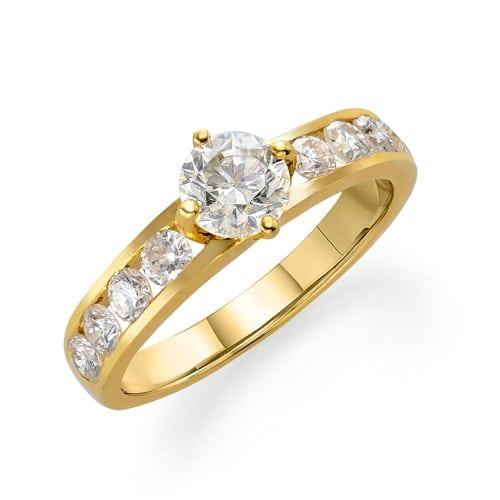 טבעת יהלומים דגם  Lesley ב-40% הנחה!!!