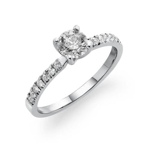 טבעת אירוסין  דגם Lara