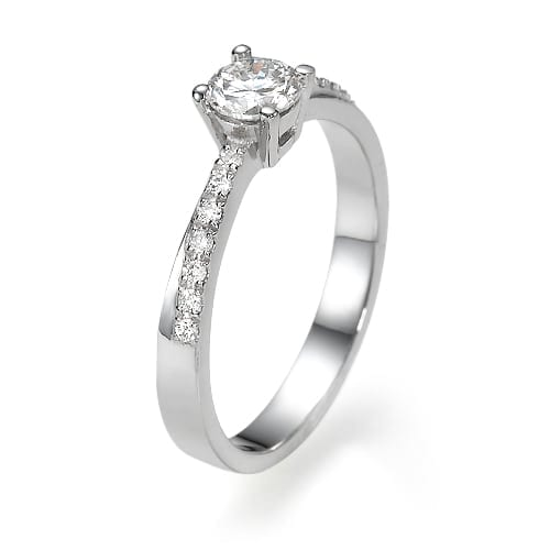 טבעת אירוסין דגם Bat-El