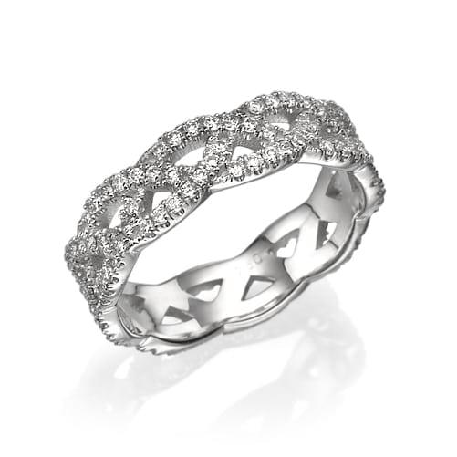 טבעת יהלומים דגם Hope ב-55% הנחה!!!
