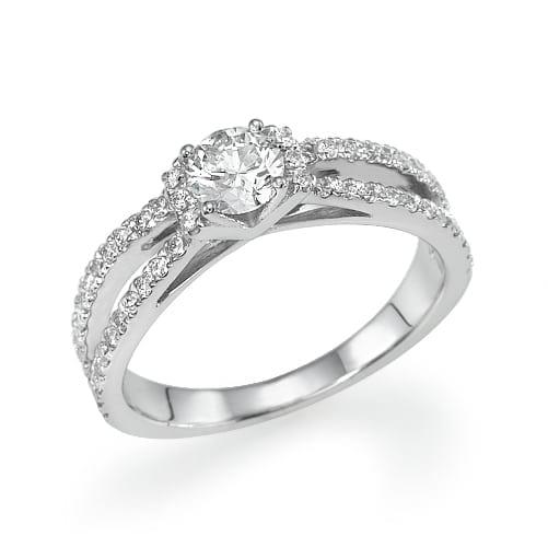 טבעת יהלומים דגם Dolores