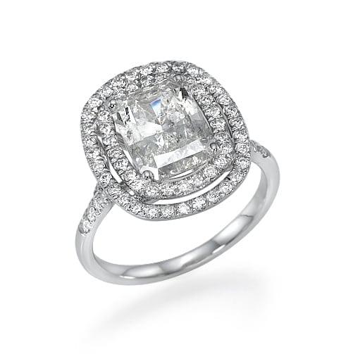 טבעת יהלומים דגם Jill