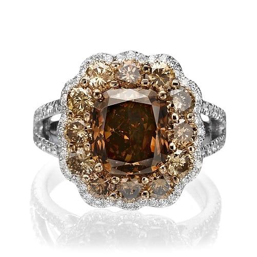 טבעת יהלומים דגם Rachel