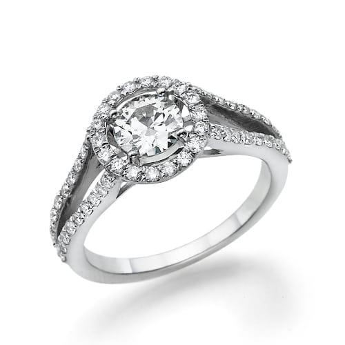 טבעת יהלומים דגם Amour