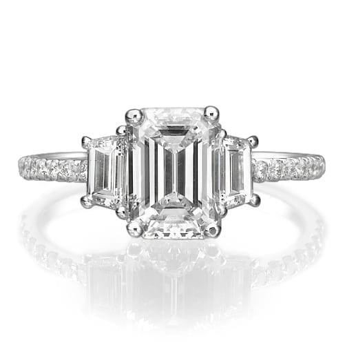 טבעת יהלומים דגם Sabine