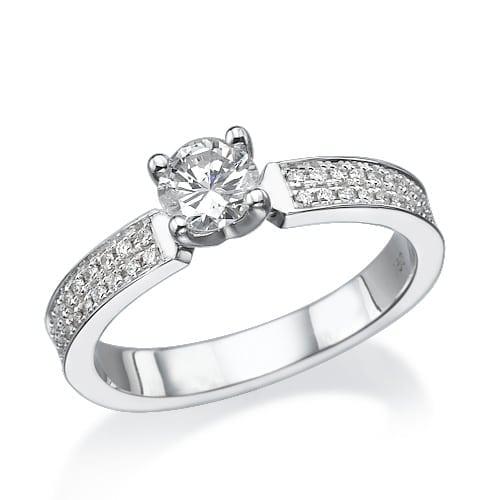 טבעת אירוסין דגם Abby