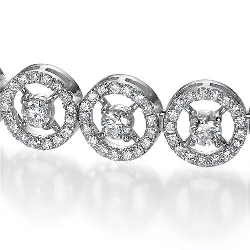 צמיד יהלומים דגם Nova