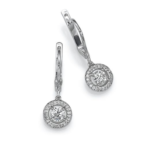 עגילי יהלומים דגם Hera