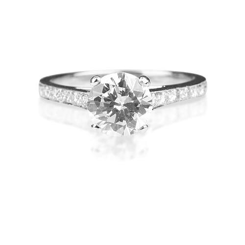 טבעת יהלום דגם Meryl