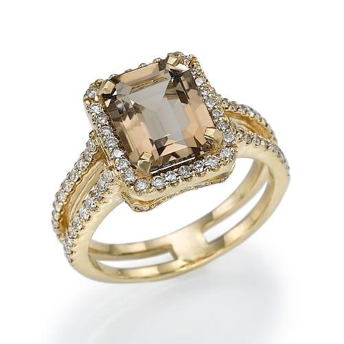 טבעת יהלומים דגם Ophira