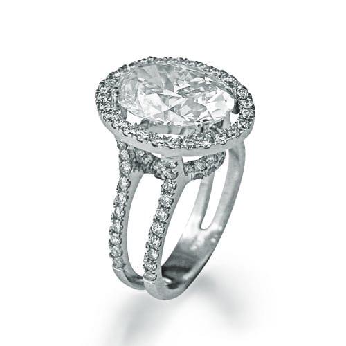 טבעת דגם Claire