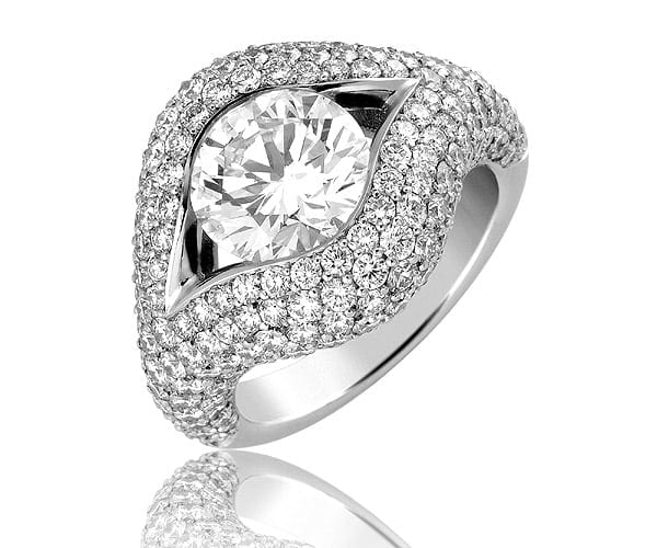 טבעת יהלומים דגם Lindsay