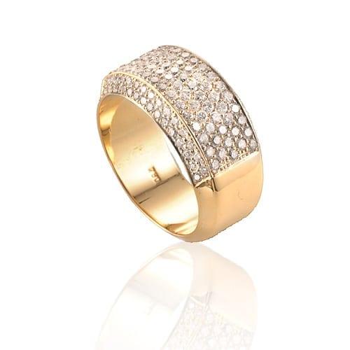 טבעת דגם Pave ב-48% הנחה!!!