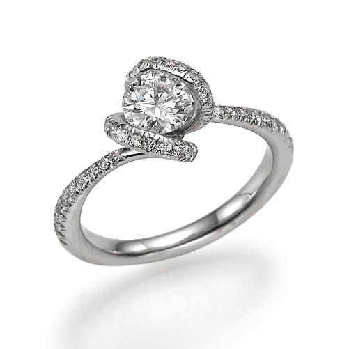 טבעת אירוסין דגם Abigail ב-37% הנחה!!!