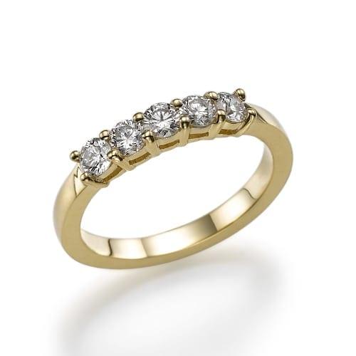 טבעת יהלומים דגם Dean