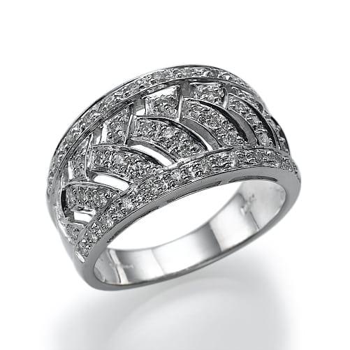 טבעת יהלומים דגם Athena ב-50% הנחה!!!