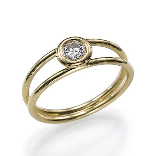 טבעת אירוסין דגם Galya