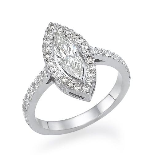 טבעת יהלומים דגם Zohar