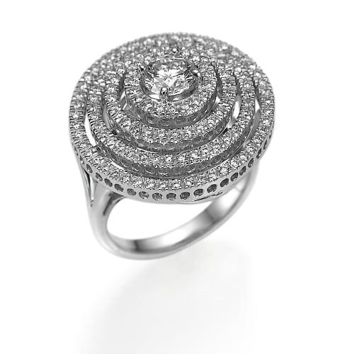 טבעת יהלומים 1.30 קראט ב-43% הנחה!!!