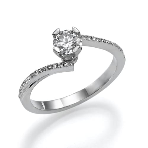 טבעת אירוסין דגם Shelly