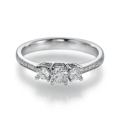 טבעת אירוסין דגם Adelle