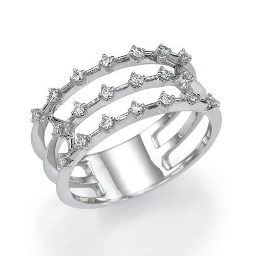 טבעת יהלומים דגם Alexa