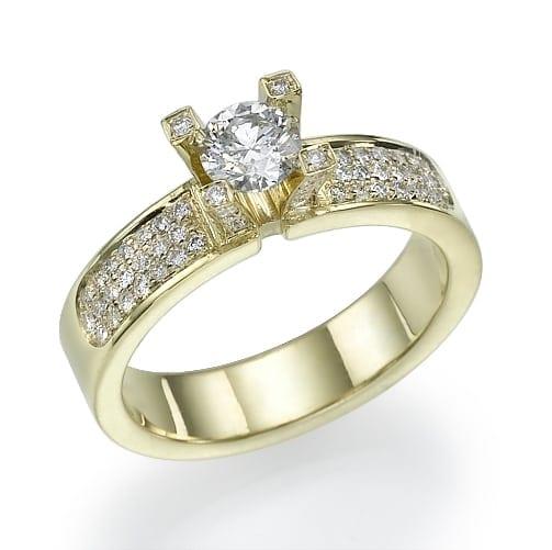 טבעת יהלומים דגם Valeria ב-36% הנחה