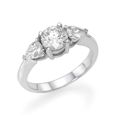 טבעת יהלומים דגם Melania