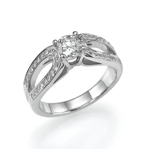 טבעת יהלומים דגם Stella