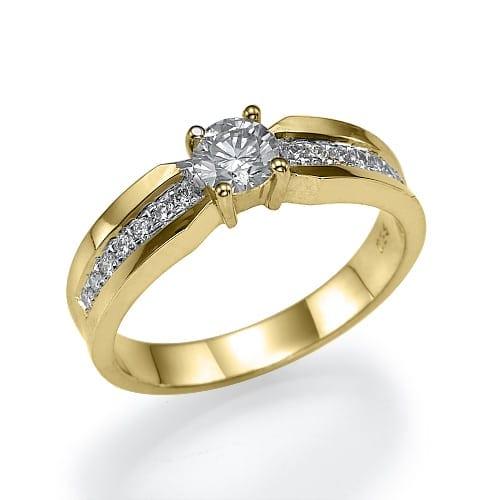 טבעת אירוסין  דגם Venus