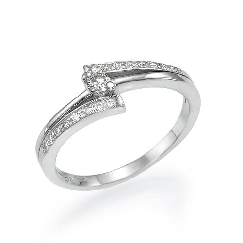 טבעת אירוסין  דגם Toma