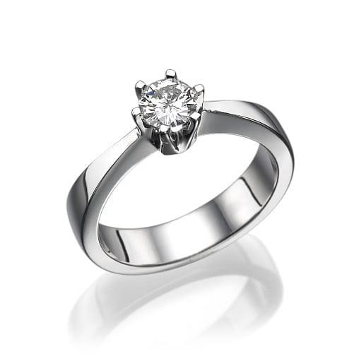 טבעת יהלום דגם Maelie