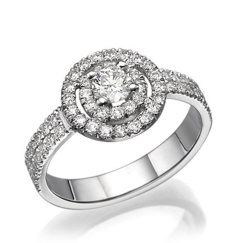 טבעת אירוסין דגם Ruslana