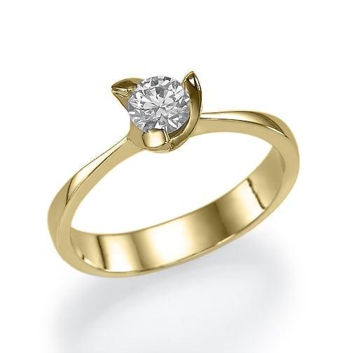 טבעת אירוסין  דגם Adriana