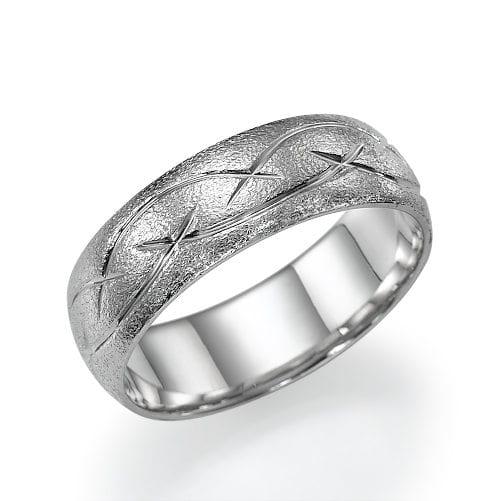 טבעת נישואין דגם Vered