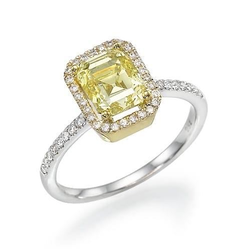 טבעת יהלומים דגם Leehe
