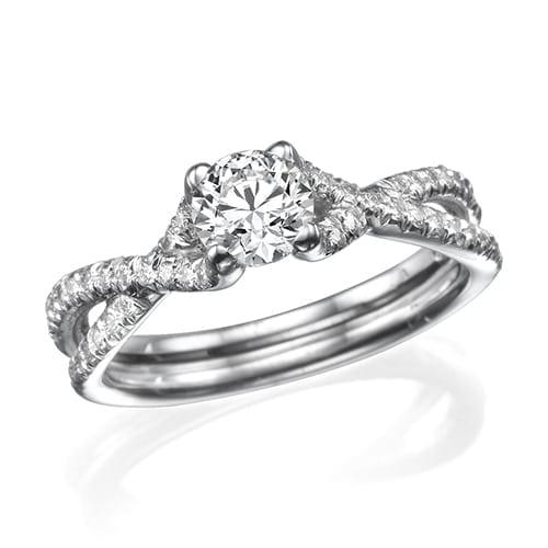 טבעת אירוסין דגם Jayden