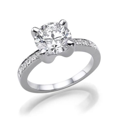 טבעת יהלומים דגם Hilla