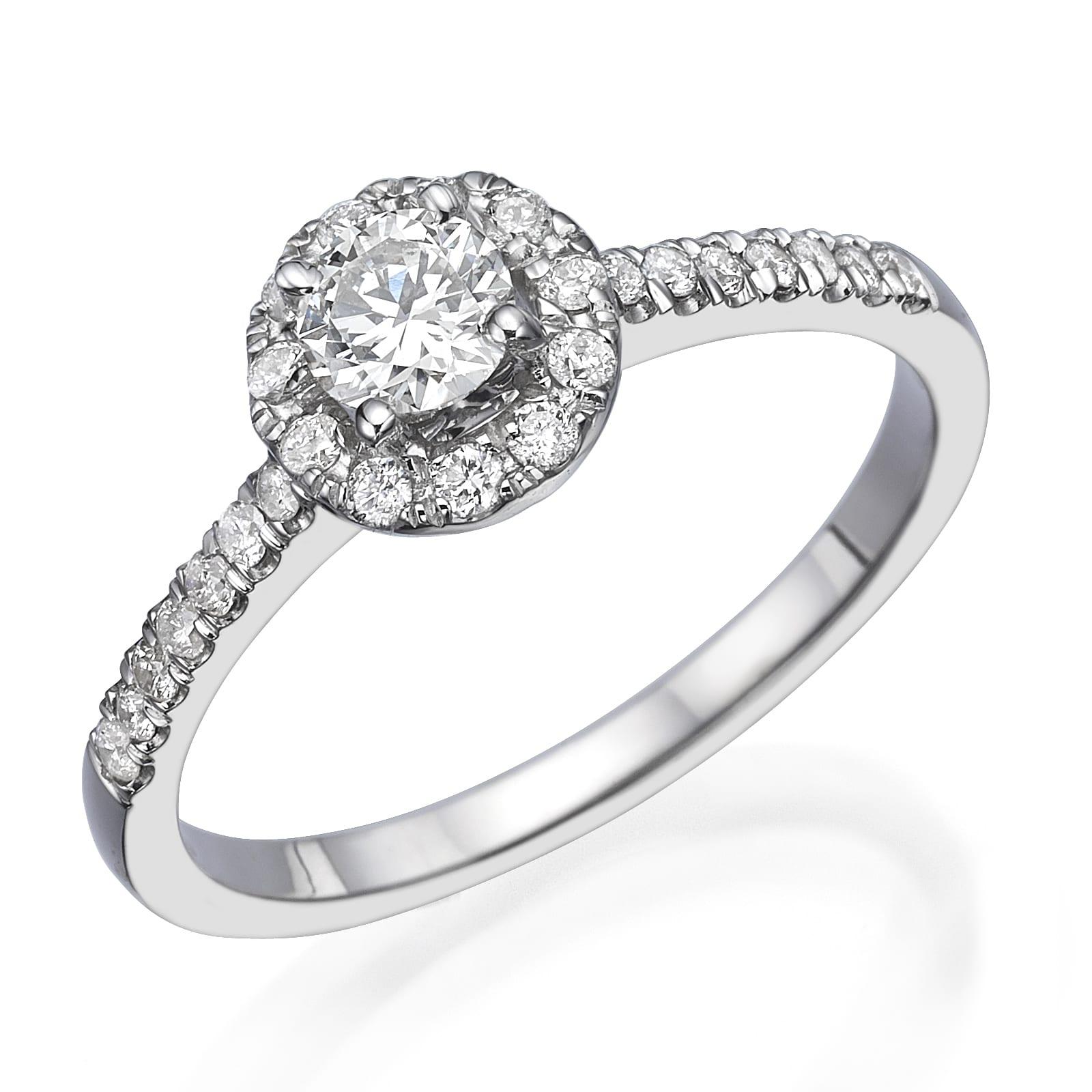 טבעת אירוסין דגם Frances