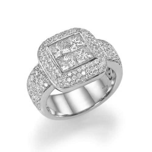 טבעת יהלומים דגם Anastasia