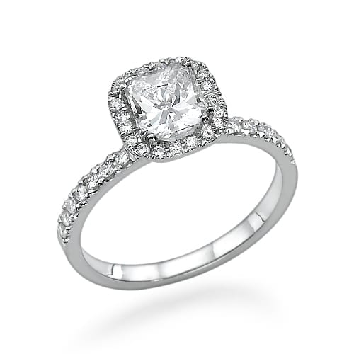 טבעת יהלומים דגם Victoria
