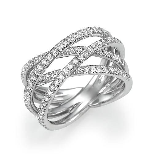 טבעת יהלומים דגם Hagara