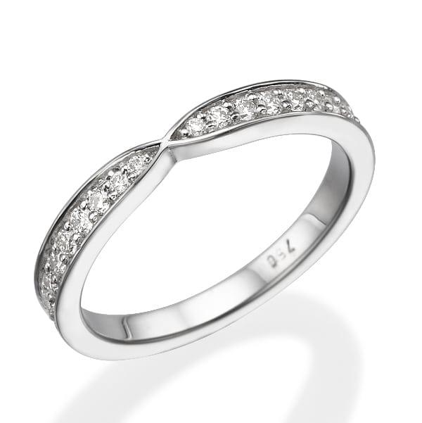 טבעת יהלומים דגם Eve